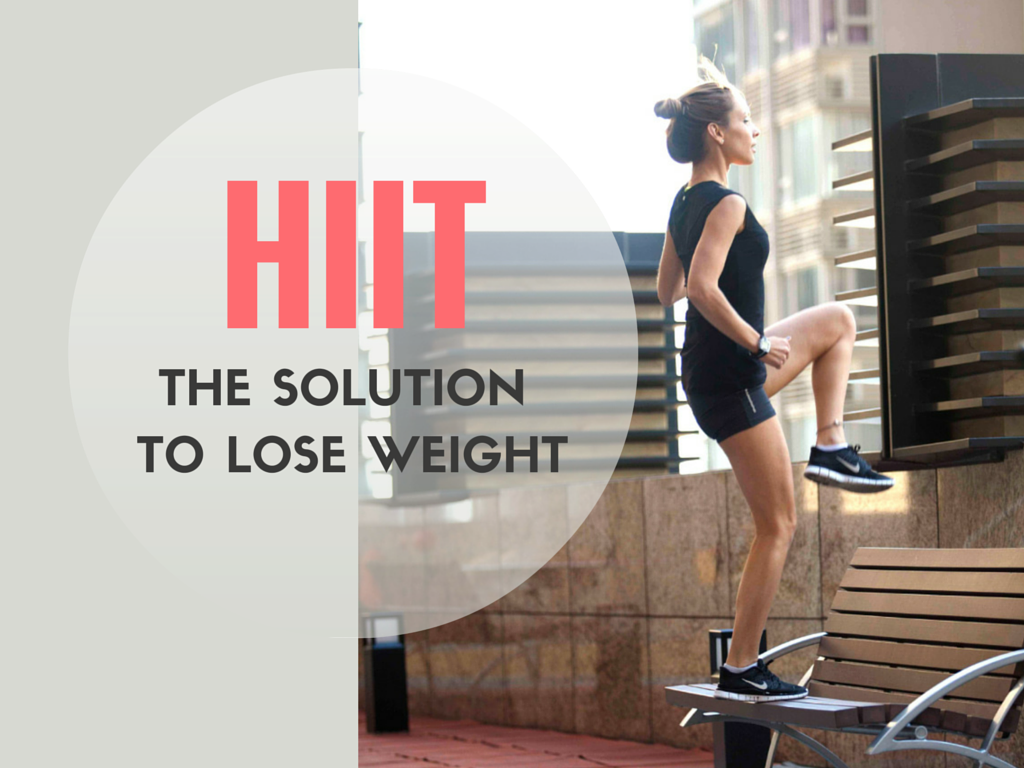 HIIT THE SOLUTION TO LOSE WEIGHT