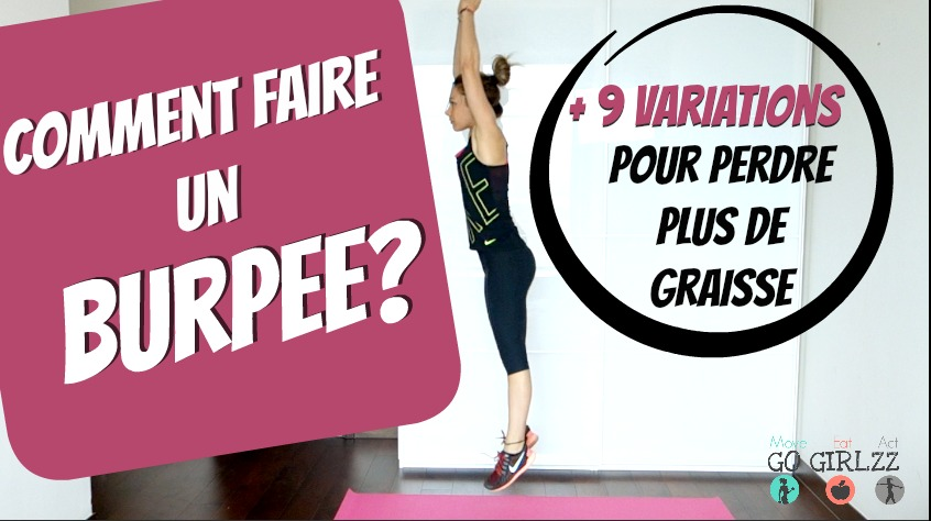 Comment faire des burpees + 9 variations