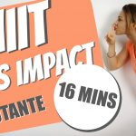 HIIT SANS IMPACT 16 min_YOUTUBE COVER